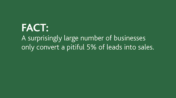 Better lead conversion Fact