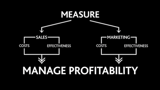 Profitable Sales - what you don't measure you can't manage