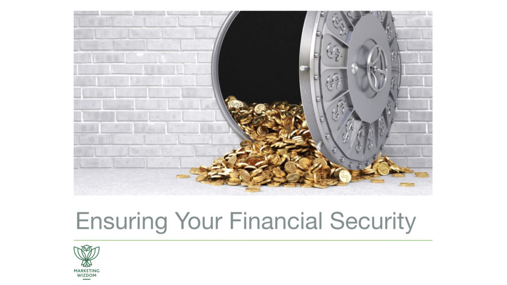 story financial security